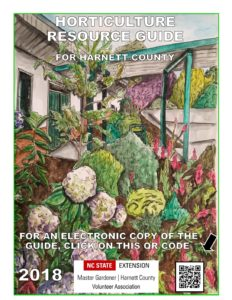 Cover photo for 2018 Horticulture Resource Guide for Harnett County