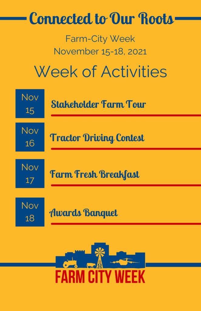 Farm City Week Schedule 2021